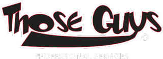 Those Guys Professional Services Logo